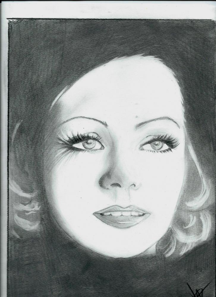 Greta Garbo por isabella1988